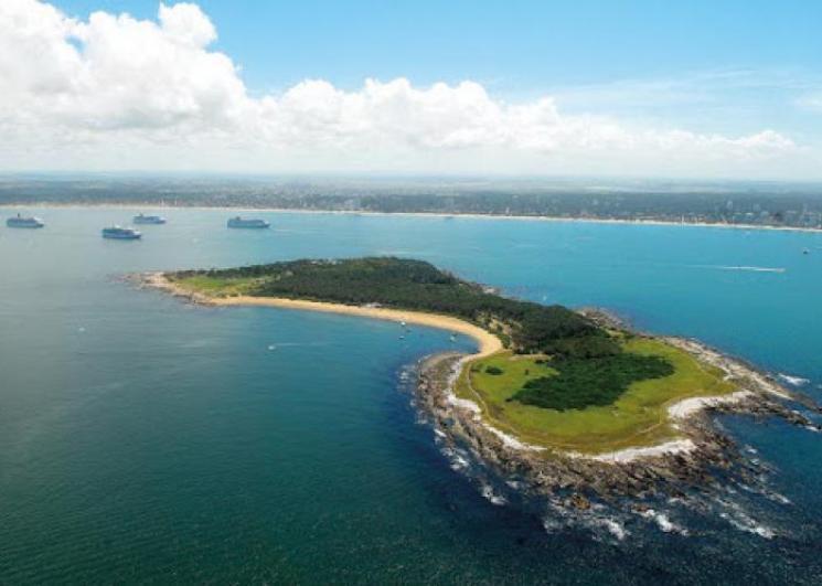 Ilha Goritti é opção de passeio perto de Punta Del Este