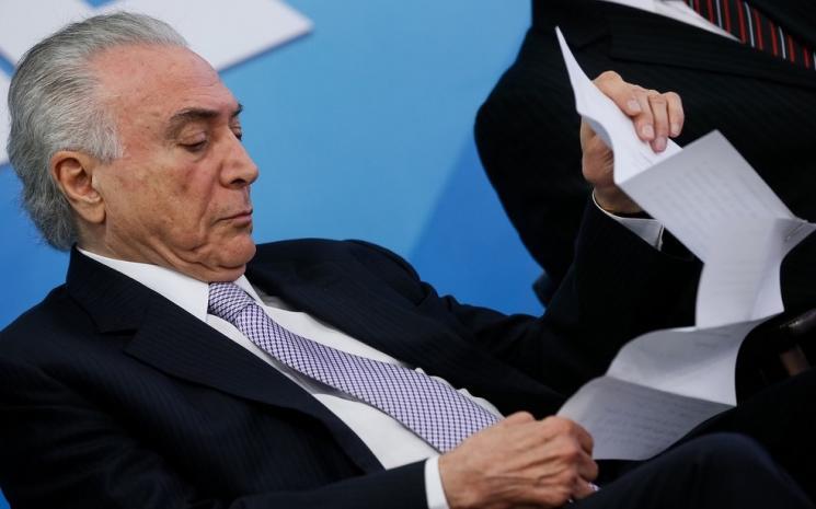Temer planeja anunciar criação de Ministério da Segurança Pública após carnaval