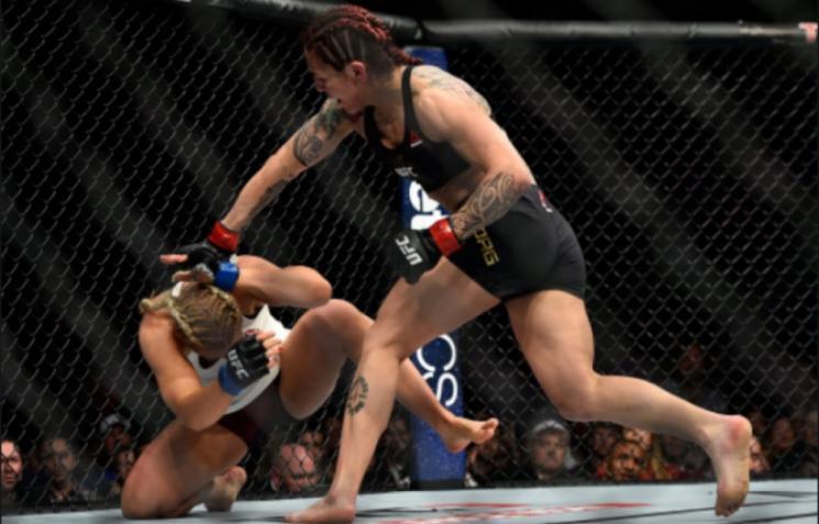 Cyborg nocauteia Kunitskaya no UFC 222 e manda recado!