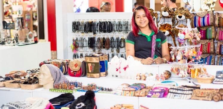 Feira Internacional de Artesanato e Decoração acontece até o dia 31 de março, no Conjunto Nacional