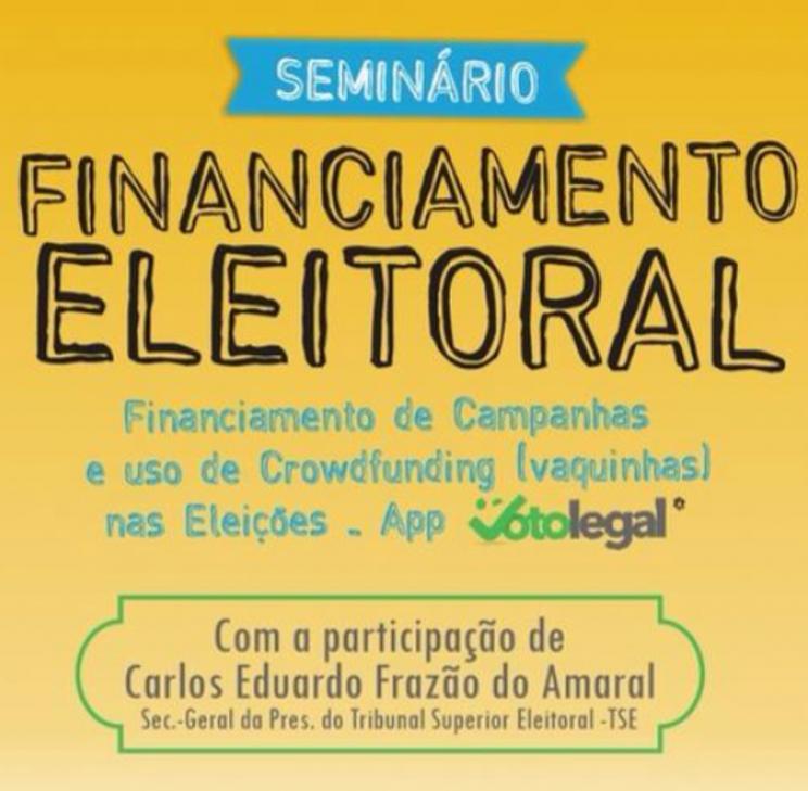 Movimento de Combate à Corrupção Eleitoral promove seminário sobre Financiamento nas Eleições e o uso de crowdfunding