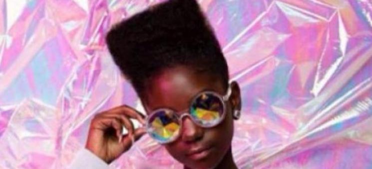 Kheris Rogers, a estilista mais jovem a desfilar em NY