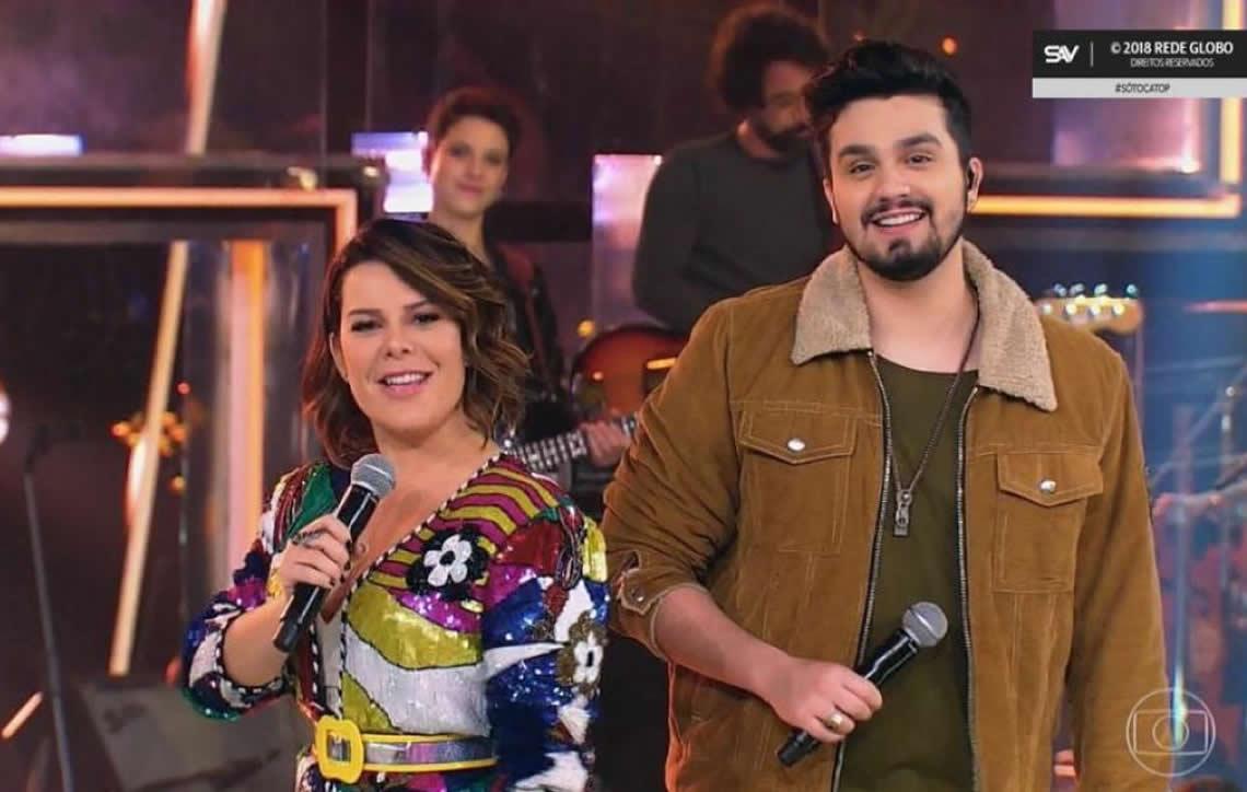 """Fernanda Souza surpreende e surta no """"Só Toca Top"""""""