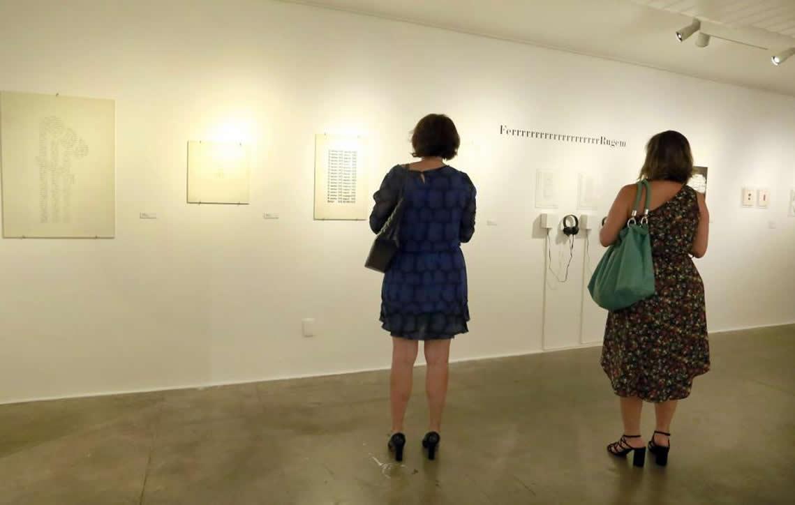 """""""Poesia Experimental Portuguesa"""" é apresentada pela primeira vez ao público brasileiro na CAIXA Cultural Brasília"""