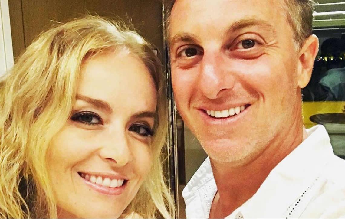 Luciano Huck comemora 14 anos de casado com Angélica