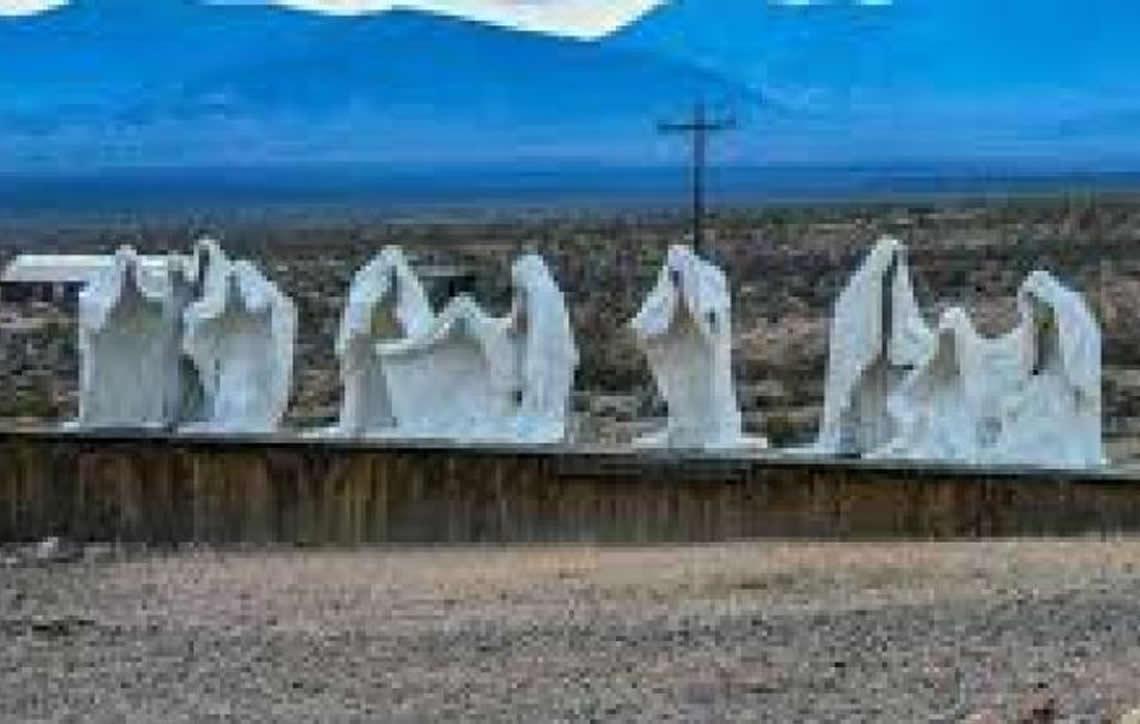 Rhyolite, Uma cidade fantasma nos Estados Unidos