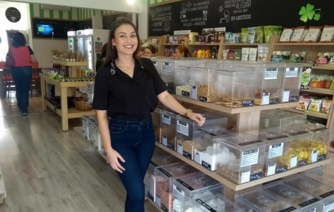 Nação Verde. É a primeira loja no DF da rede de bem-estar e produtos naturais