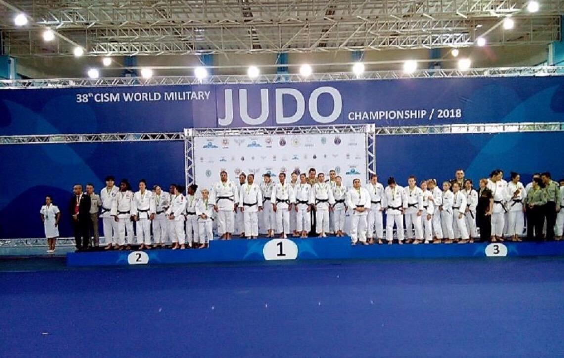 Brasil vence Mundial Militar de Judô no Rio