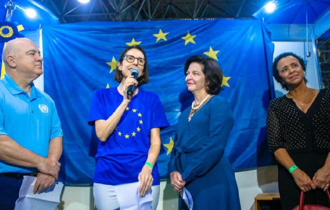 União Europeia promove Direitos Humanos em feira internacional no Brasil