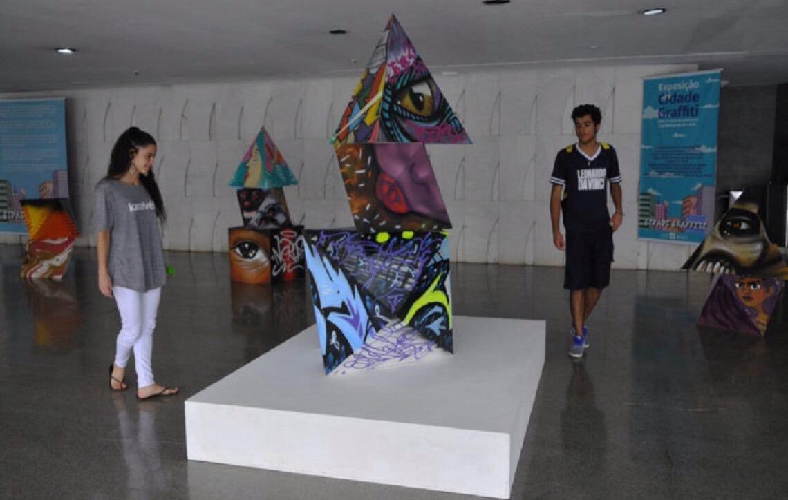Teatro Nacional abriga exposição de grafites até 25 de novembro