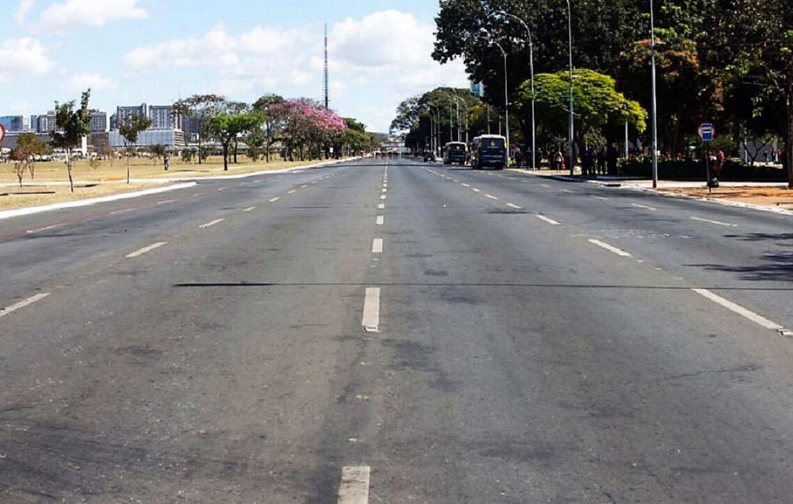 Trânsito será alterado na Esplanada e Parque da Cidade, no domingo