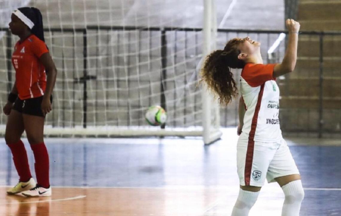 Parceria com a Chapecoense transforma Escola em referência mundial do Futsal Feminino