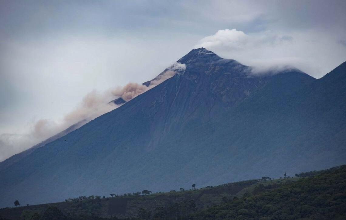 Guatemala monitora atividades de vulcão que pode ter novas erupções