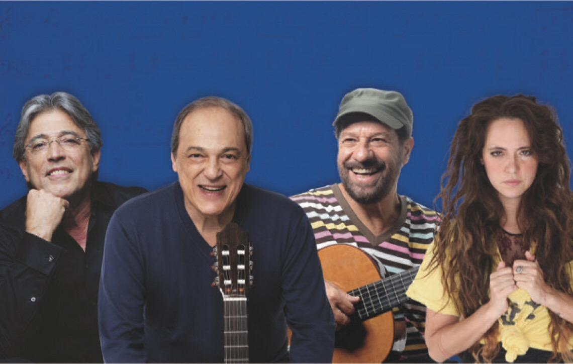 Vozes da MPB. Encontro Histórico, inédito e único acontecerá em 8 de dezembro em Brasília