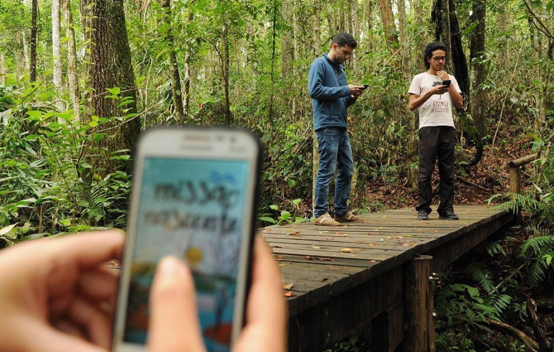 Aplicativo estimula visitantes do Jardim Botânico de Brasília a conhecer melhor o Cerrado