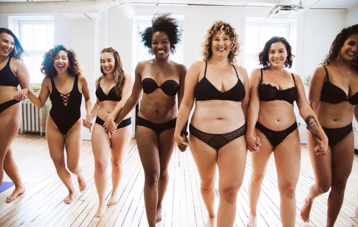 Mulheres diferentes participa de projeto fotográfico que exalta a beleza de todos os tipos de corpos