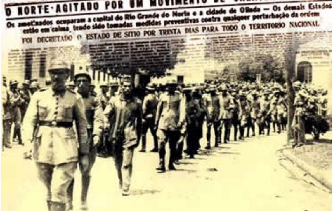 83 anos da Intentona Comunista: Culto à Memória dos que faleceram para manter a Democracia