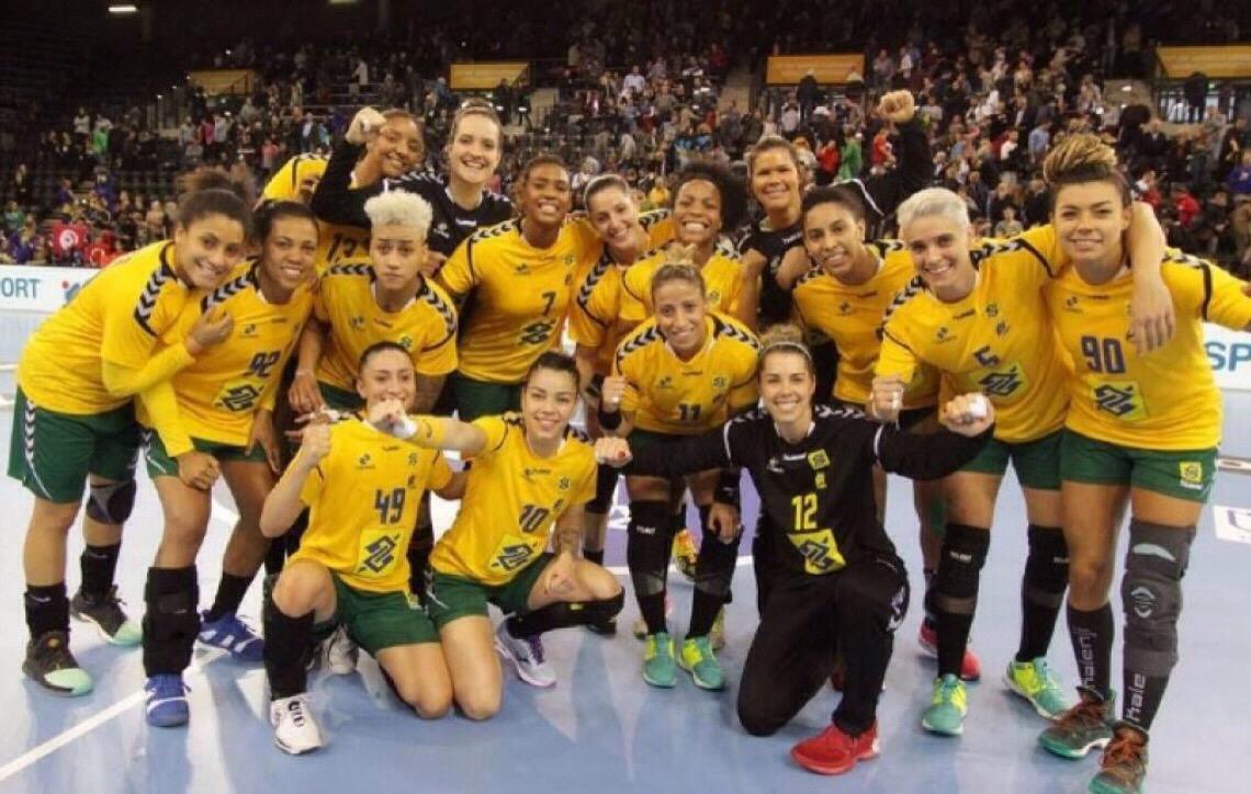 Seleção Feminina de Handebol garante vaga no Mundial de 2019