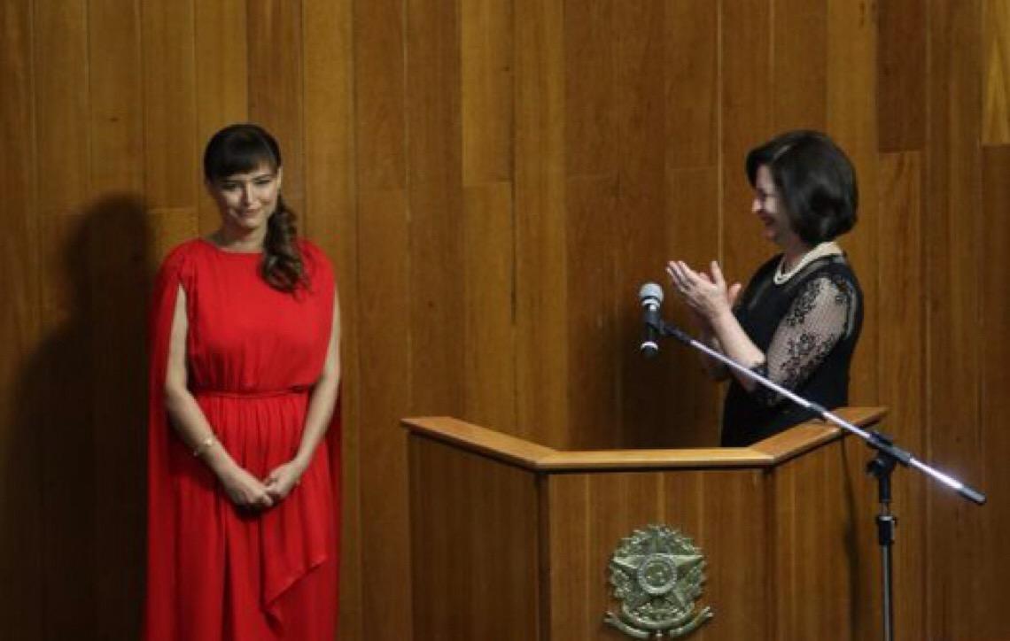 Promotora Fabiana Costa toma posse como procuradora-geral de Justiça do DF