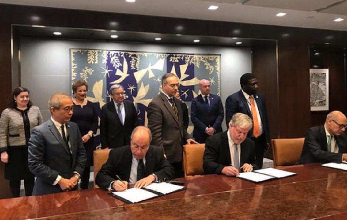 Brasil e Portugal juntam-se para oferecer aulas de português nas Nações Unidas