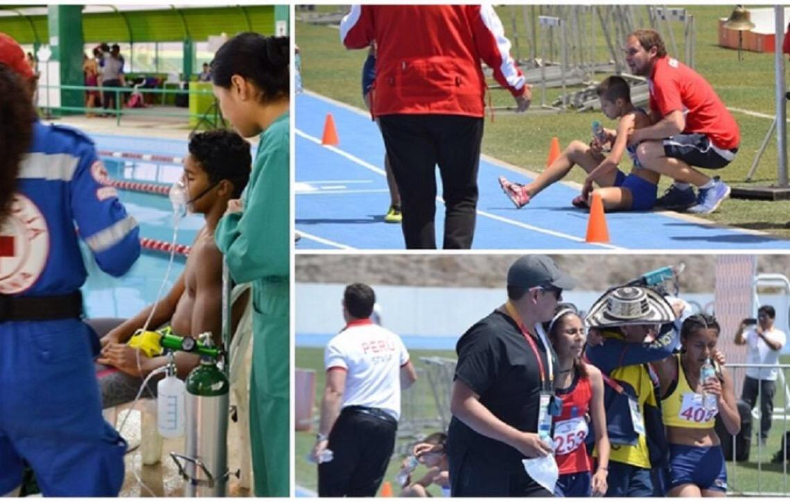 Brasil venceu rivais e a altitude nos Jogos Escolares Sul-Americanos de Arequipa