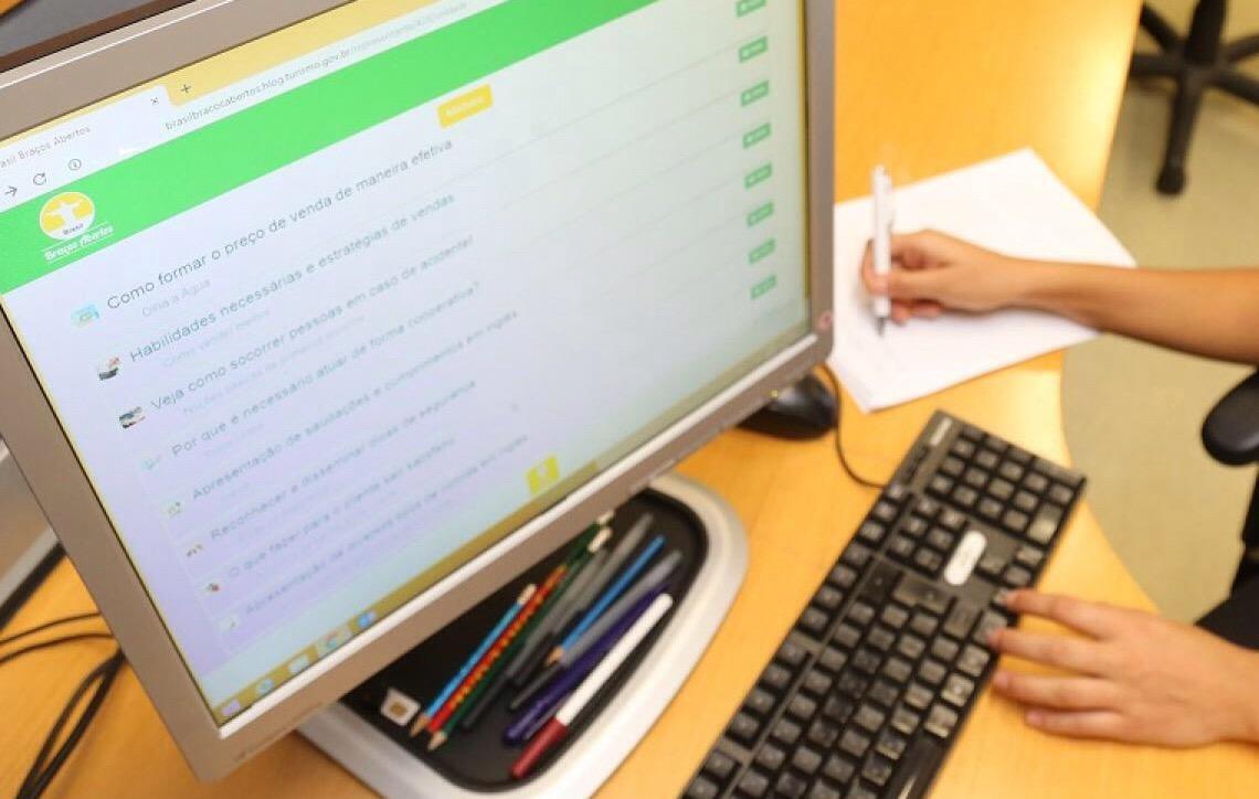 Plataforma de ensino online do MTur soma mais de 34 mil alunos