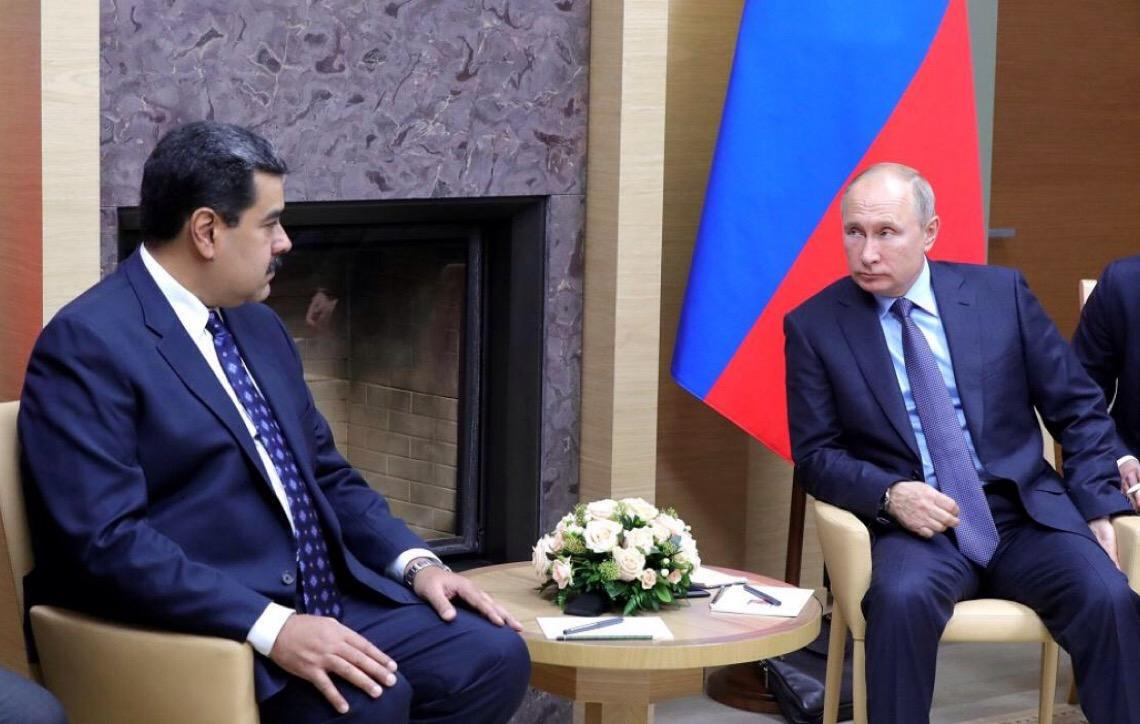 Maduro: reunião com Putin foi 'muito útil'