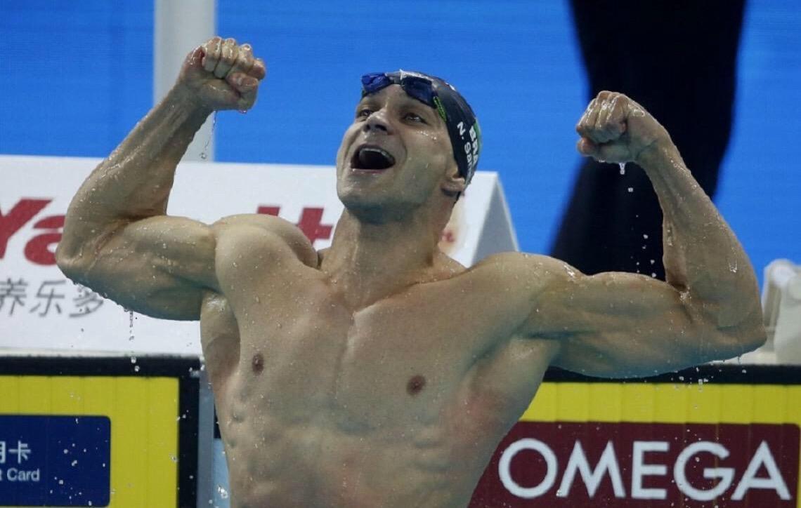 Nicholas Santos é Bicampeão Mundial dos 50M borboleta; Brandonn e Revezamento garantem bronze