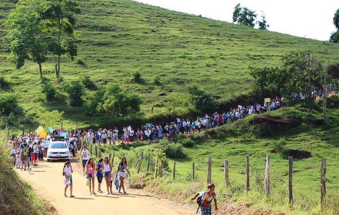 Moradores de Muriaé barram mineração e transformam área em Patrimônio Hídrico
