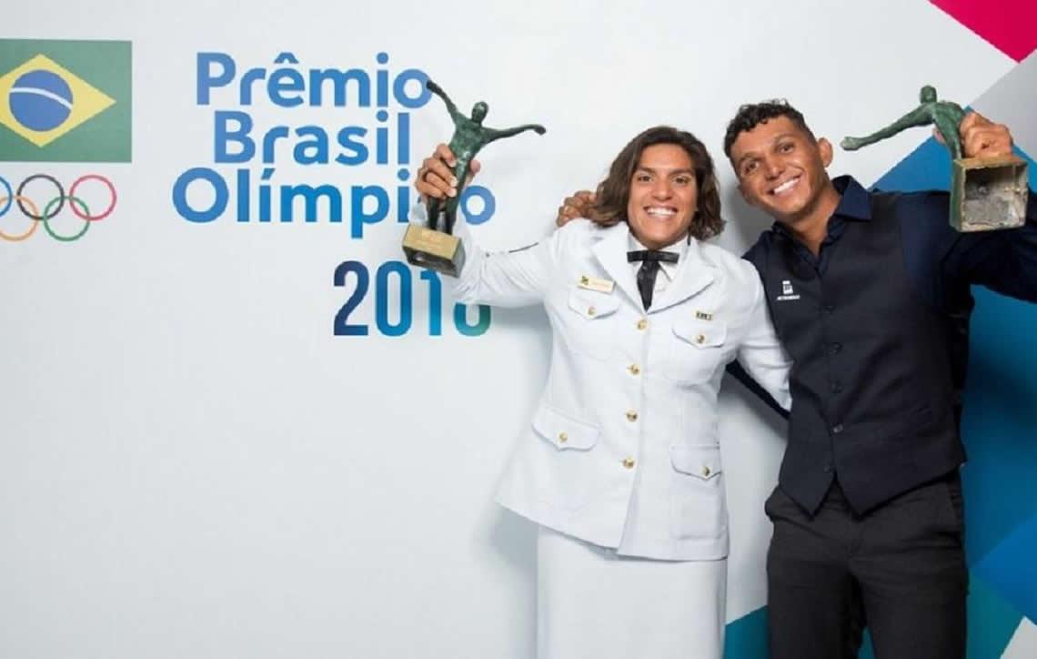 Ana Marcela Cunha e Isaquias Queiroz são os melhores atletas do 2018