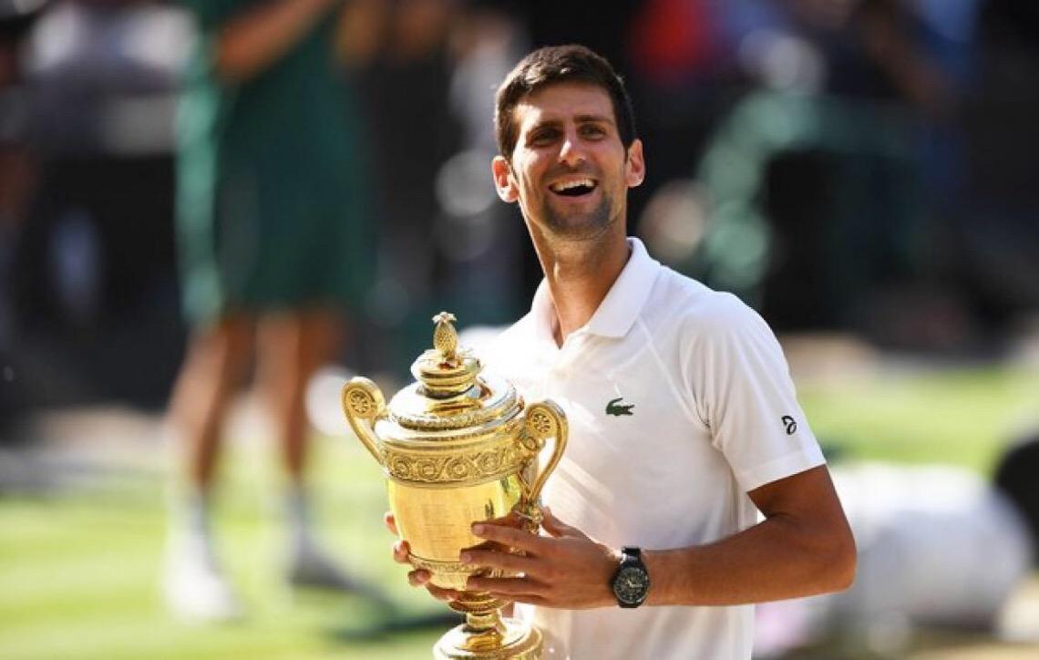Novak Djokovic vence eleição de melhor esportista europeu de 2018. Veja o Top 20