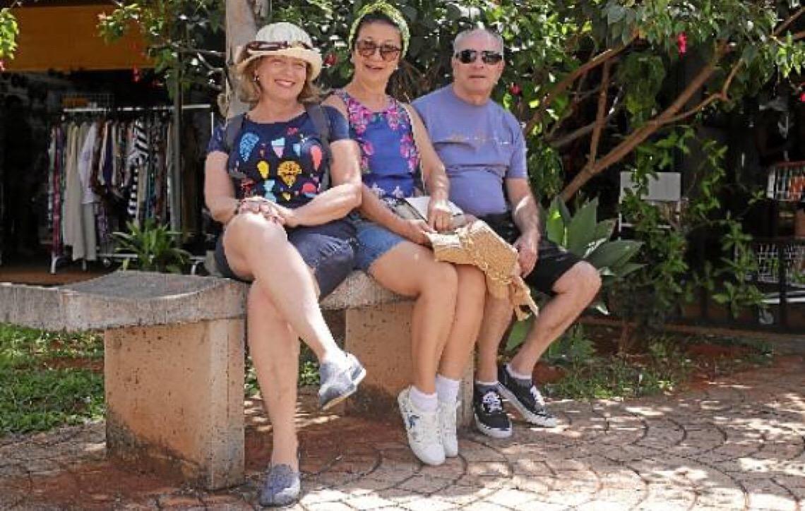 Turistas lotam Brasília e o trabalho é intensificado