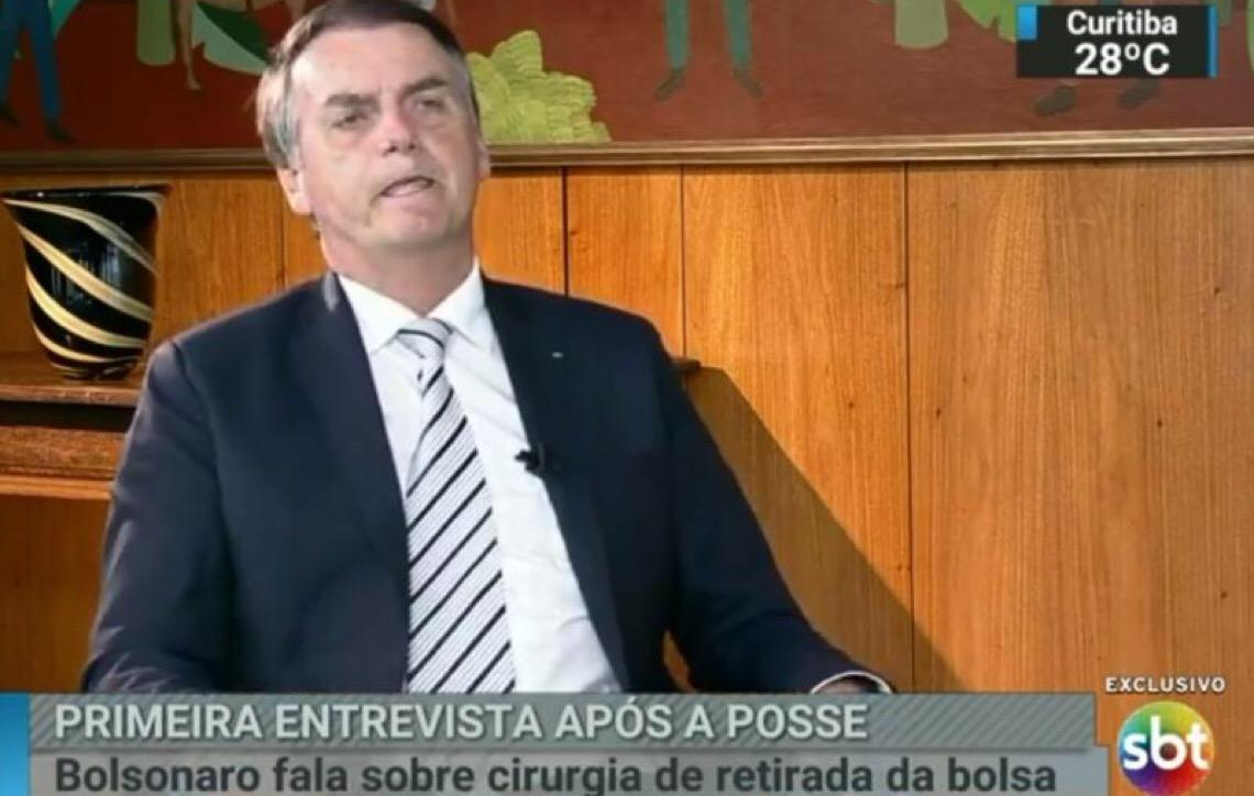 Jair Bolsonaro fala. Para quem não viu, veja a íntegra da entrevista concedida ao SBT