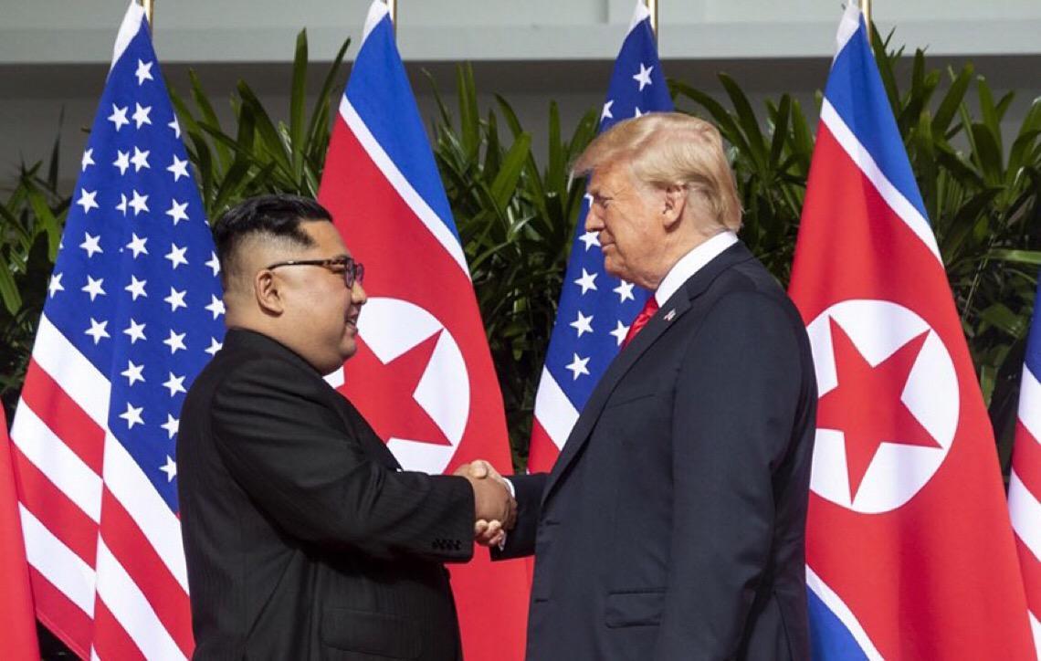 China media segundo encontro entre Donald Trump e Kim Jong-un