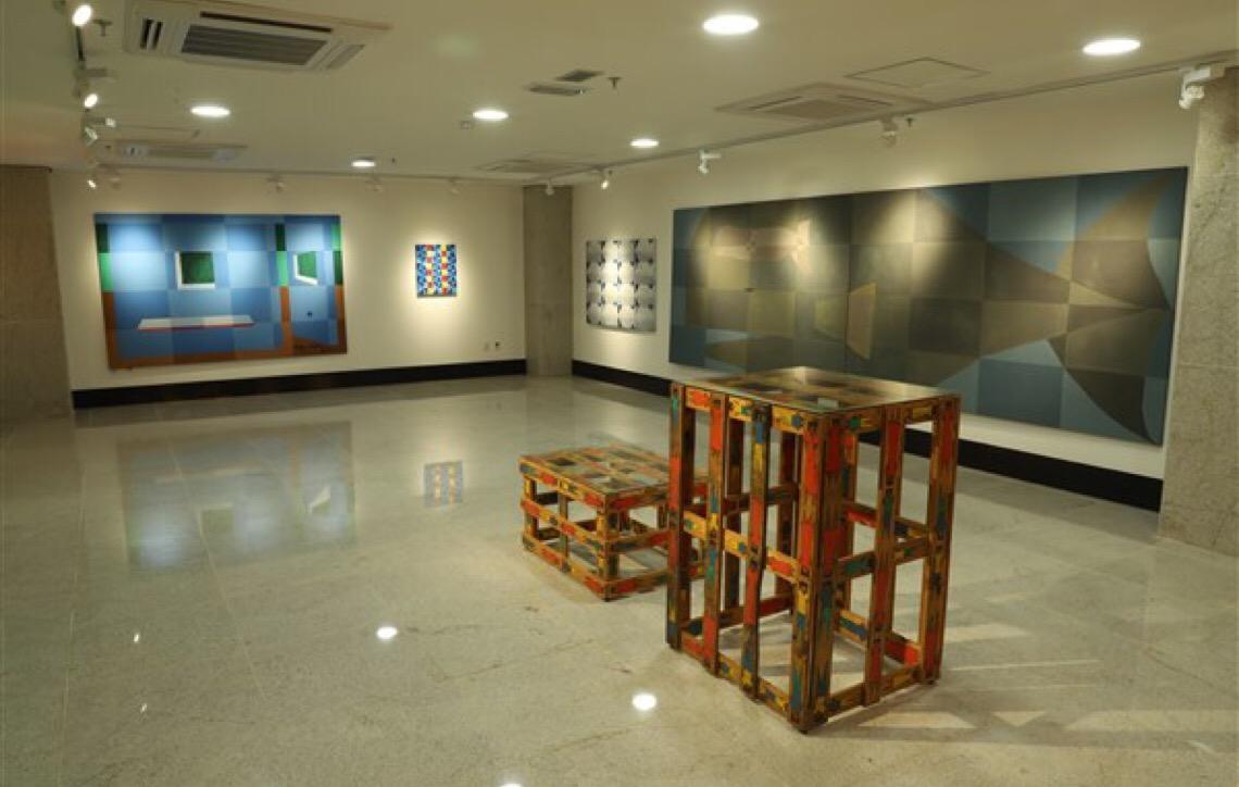 Espaço Cultural do MP do DF expõe obras do artista plástico Luiz Costa