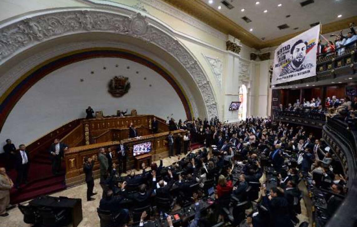 Assembleia Nacional da Venezuela aprova acordo para entrada de ajuda humanitária no país