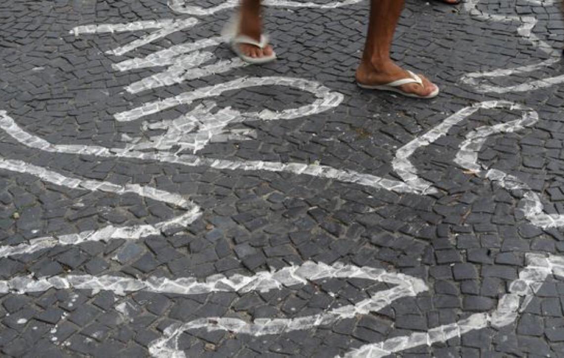 Brasil bateu recorde de mortes violentas em 2017, com 63.880 casos
