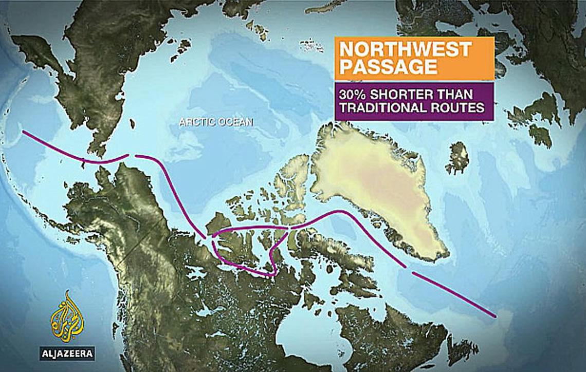 Passagem do Noroeste, a mais mítica rota marítima
