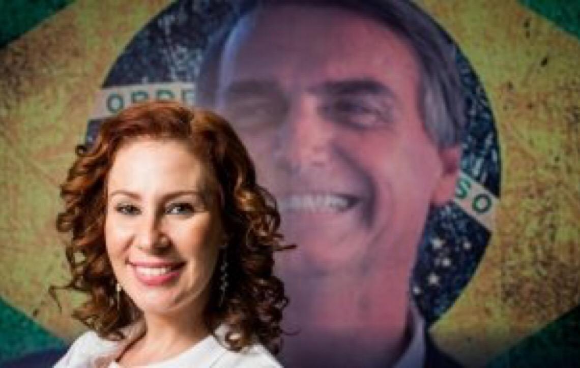 'Cristã e patriota', deputada Carla Zambelli quer fazer a esquerda 'tremer'