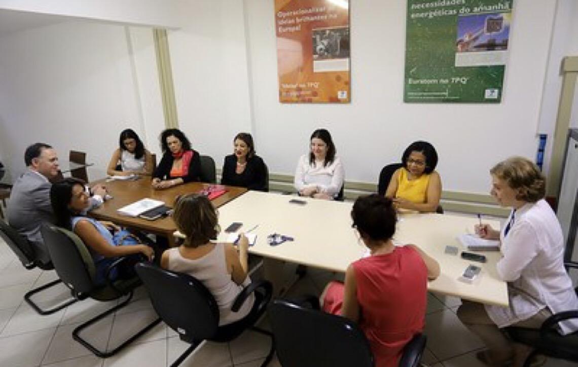 Juíza do TJ do DF troca experiências com a União Europeia sobre enfrentamento à violência contra a mulher
