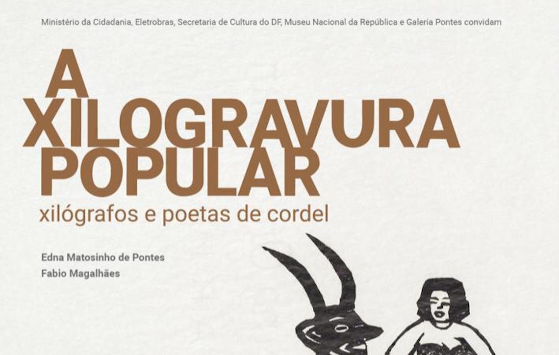 Lançamento do catálogo A xilogravura popular - xilógrafos e poetas de cordel