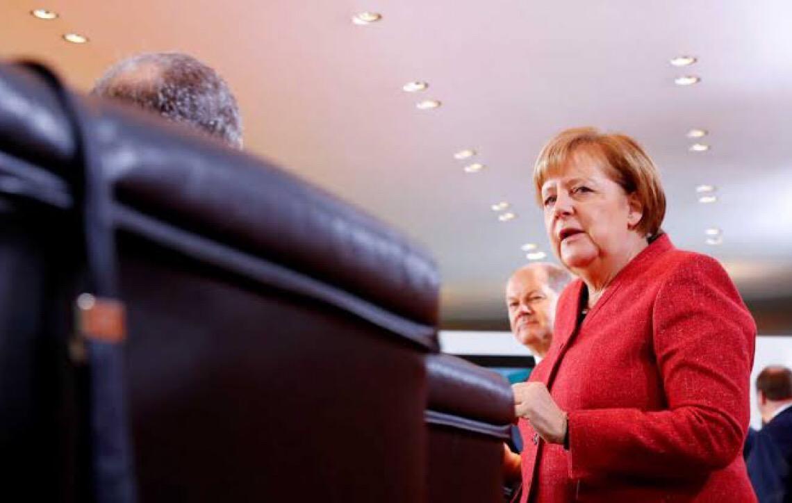 Angela Merkel recebe prêmio Fulbright