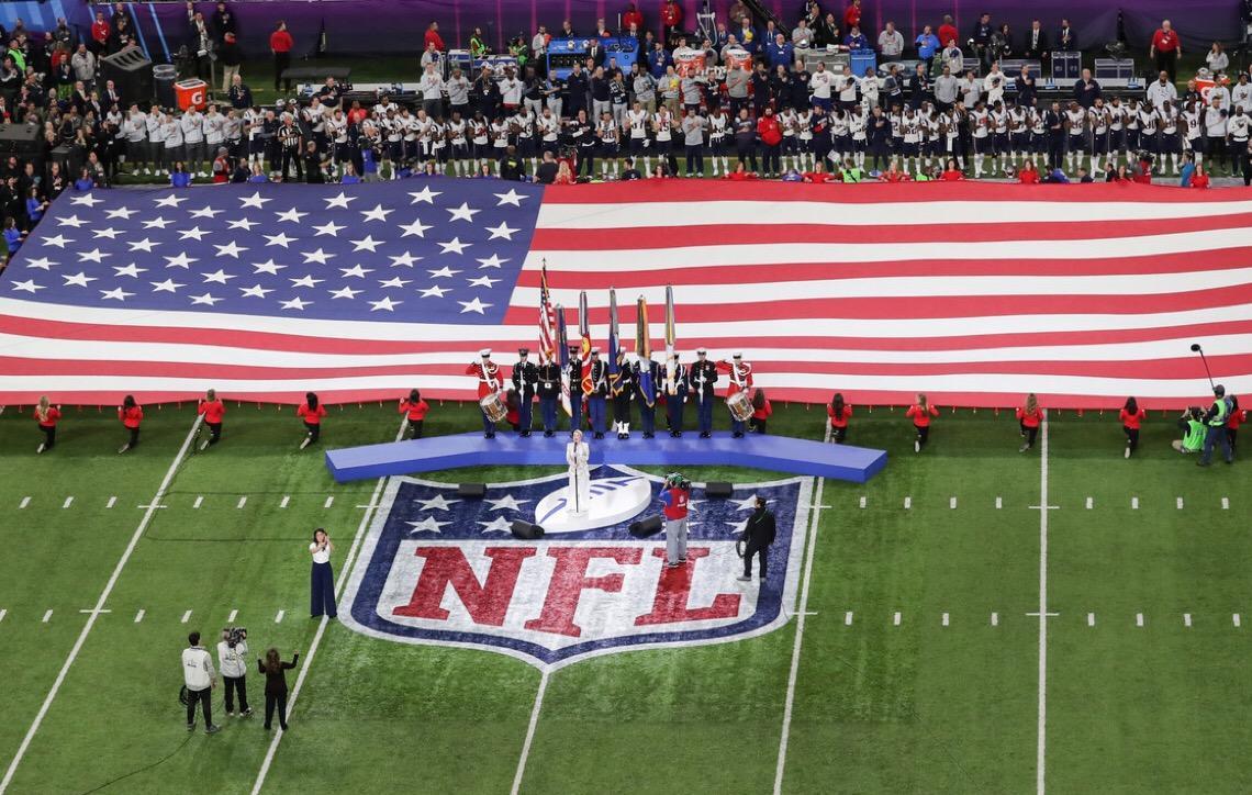Público feminino garante audiência da NFL ao redor do mundo