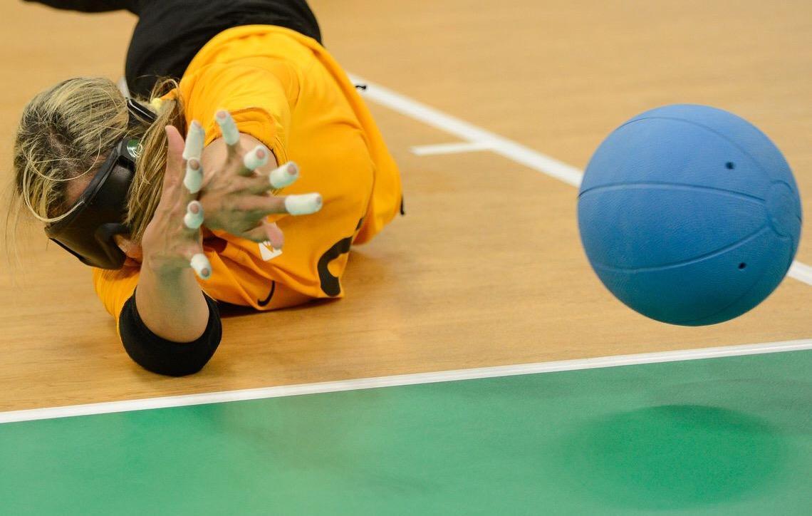 Goalball feminino traz bronze para o Brasil em preparativo para Tóquio