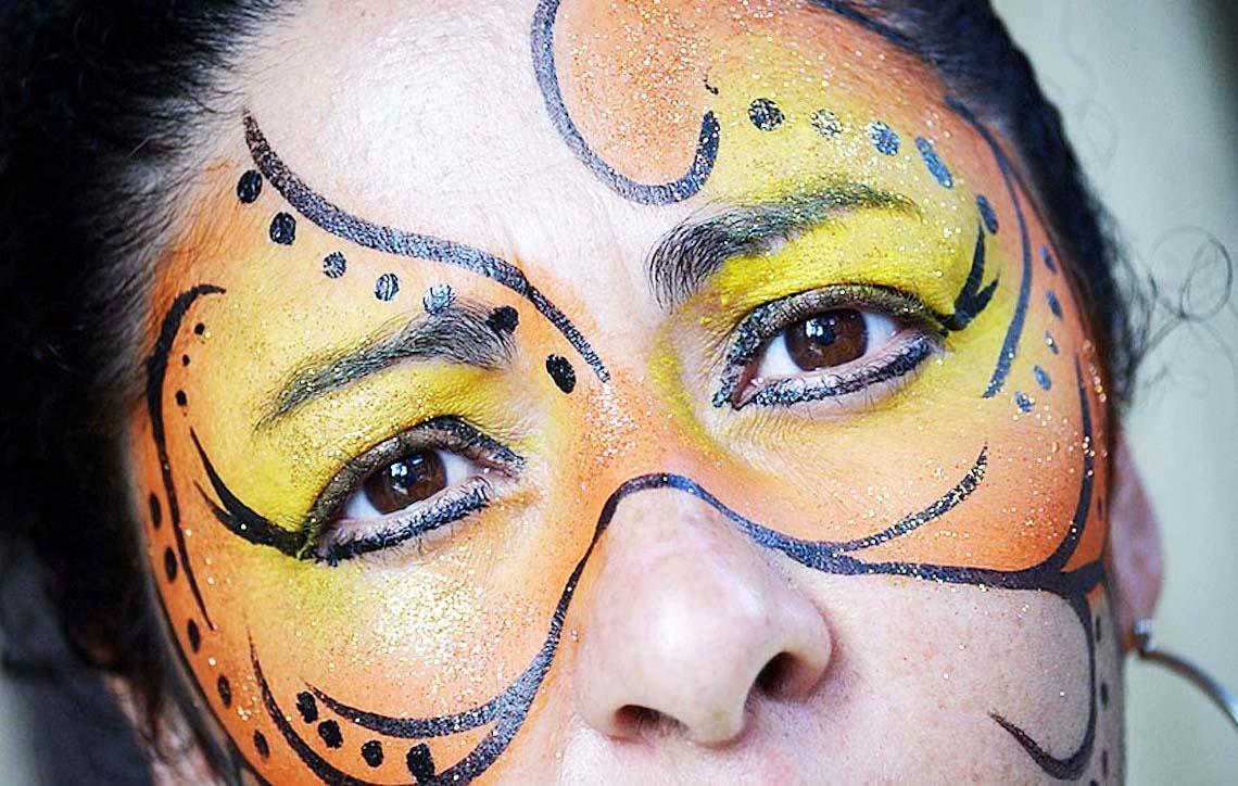 Carnaval requer cuidados com os olhos