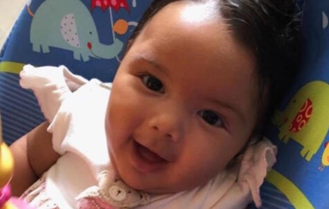 Bebê em Brasília precisa de remédio para sobreviver. Quatro doses custam R$ 1,5 mi