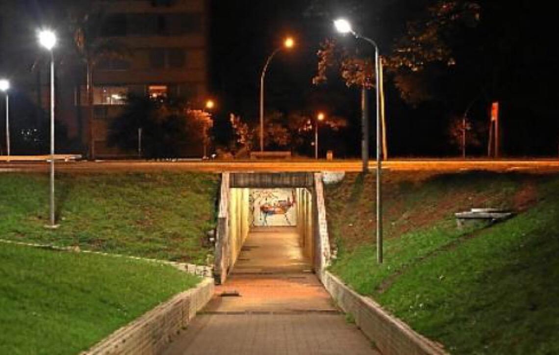 Em Brasília. As passarelas do medo