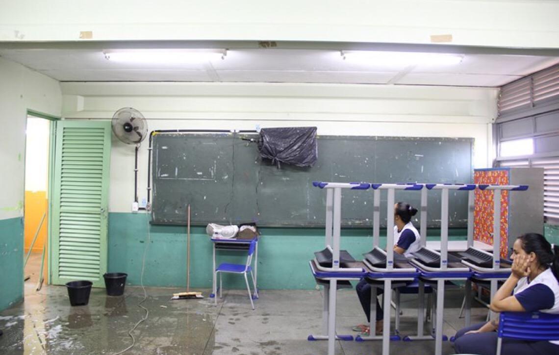Governo de Brasília reformou menos de 2% das escolas públicas da capital