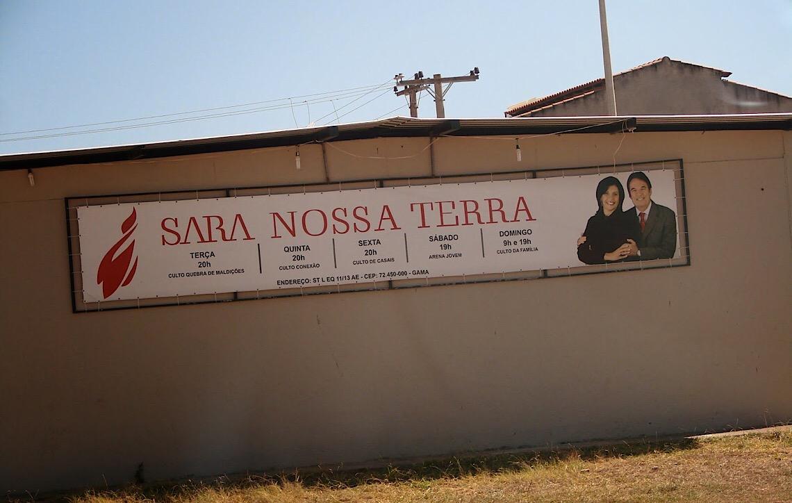 Justiça expede em Brasília mandado de reintegração de posse em desfavor da Igreja Sara Nossa Terra