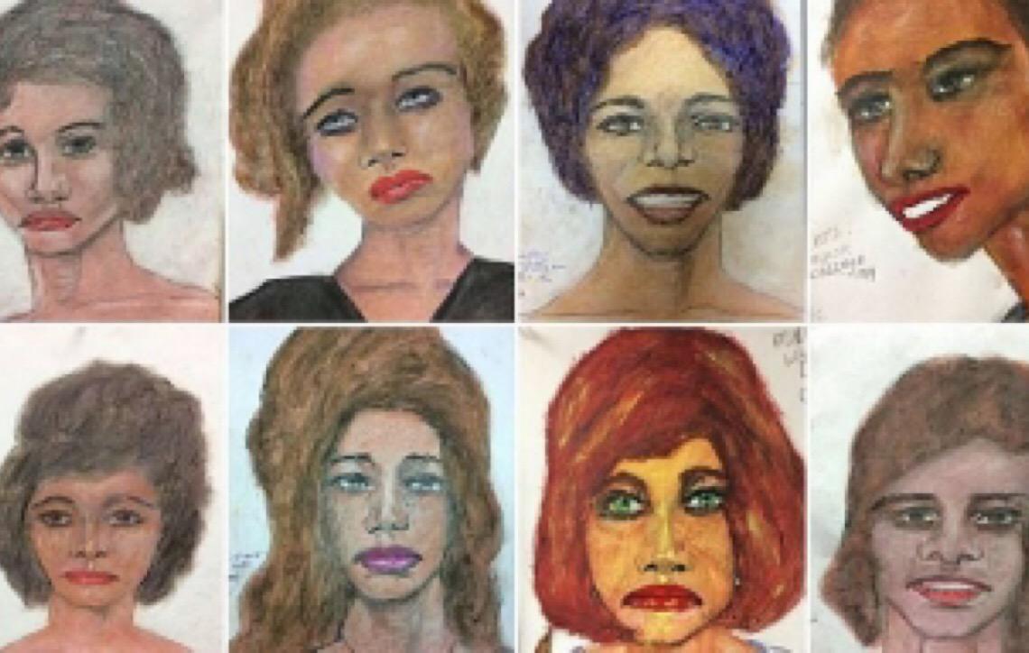 Maior serial killer dos Estados Unidos desenha rosto de vítimas a serem identificadas pelo FBI